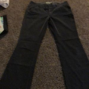 Gray corduroys by American Eagle size 12 stretch